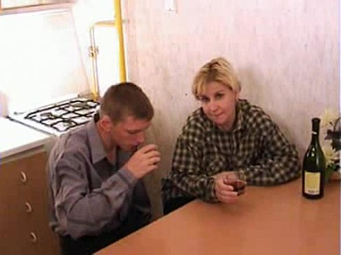 Mature Woman With Young Man