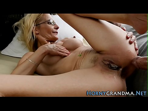 Granny Whore Has Anal Sex