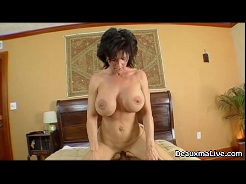 Mature Milf Deauxma Rides Her Boy Toys Big Cock!