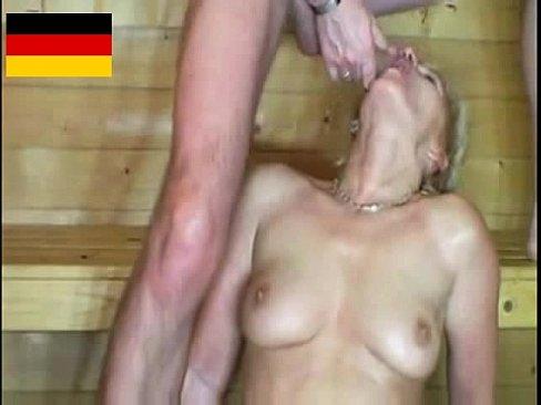 Sauna Sex With Horny Mature Women (german)