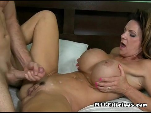 Big Tit Milf Gets Banged In Her Wet Pussy
