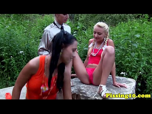 Piss Fetish Teens Pee On Busty Glamour Milf