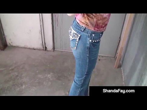 Horny Housewife Shanda Fay Sucks A Cock In A Mechanic Shop!