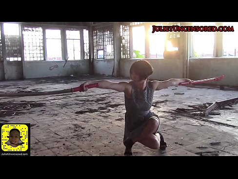 #JulietUncensoredRealityTV – PISSING  & Katana Photoshoot BTS